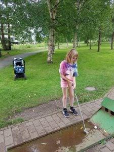 Minigolf i Kolding Legepark
