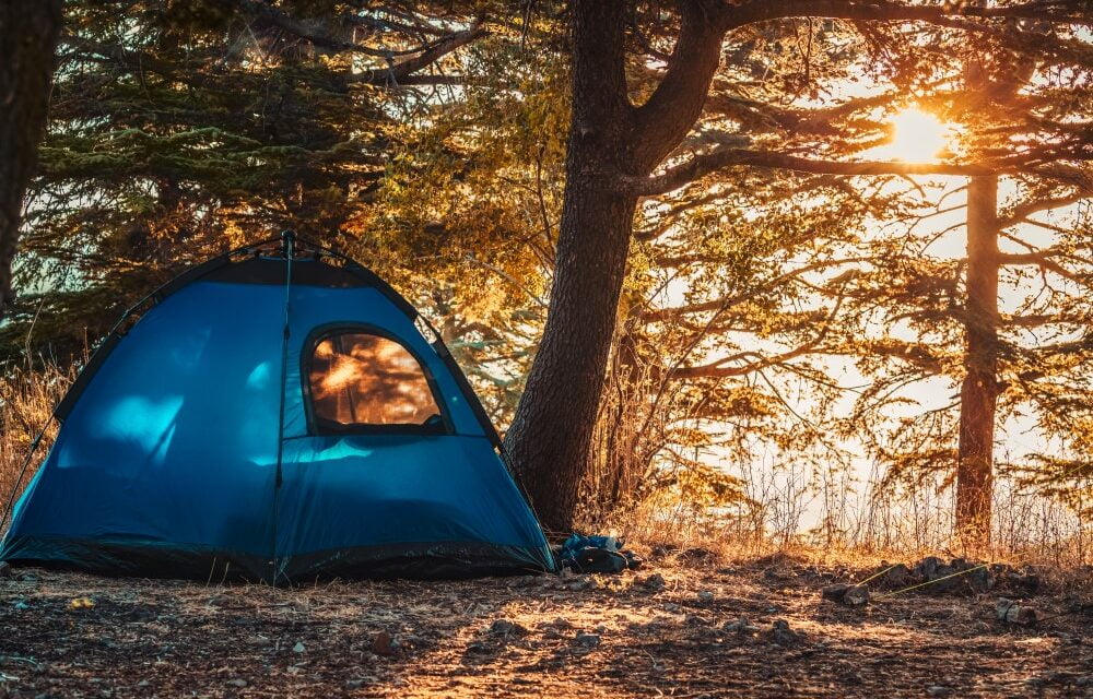 6 gange campingudstyr for en lettere campingtur